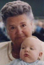 [picture of great-grandma and Bryan]
