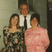 [picture of Mommy, Grandma and Grandpa]